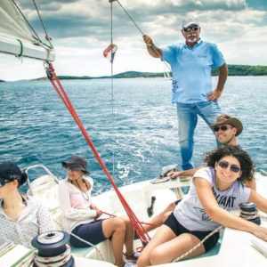 Sailing and Croatian language school minimum age 13 +