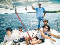 Croatian sailing and language school minimum age 13 +